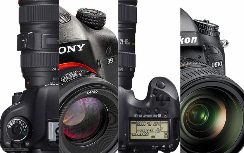 Những vấn đề cần lưu ý khi sử dụng máy ảnh DSLR