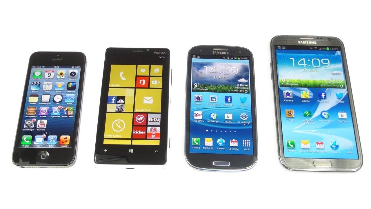 Chọn smartphone dùng hệ điều hành nào