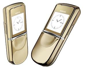 Nokia 8800 thiết kế sang trọng
