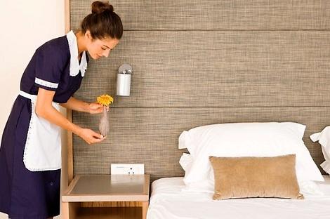 tạp vụ khách sạn