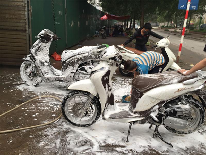 Nghề rửa xe