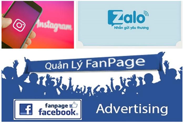CTV chăm sóc fanpage facebook, zalo, instagram làm tại nhà, không hề mất phí