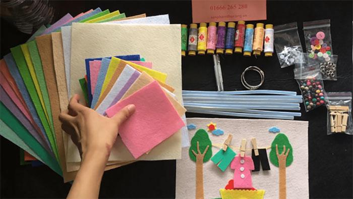 Nhận làm đồ handmade tại nhà để kiếm thêm thu nhập vào buổi tối