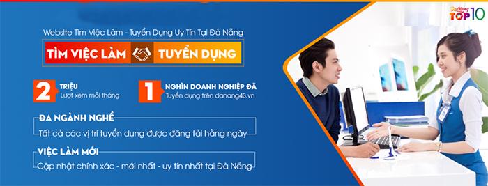 Trang web việc làm, tuyển dụng Đà Nẵng danang43.vn xứng đáng là cầu nối vững chắc giữa nhà tuyển dụng và người lao động.