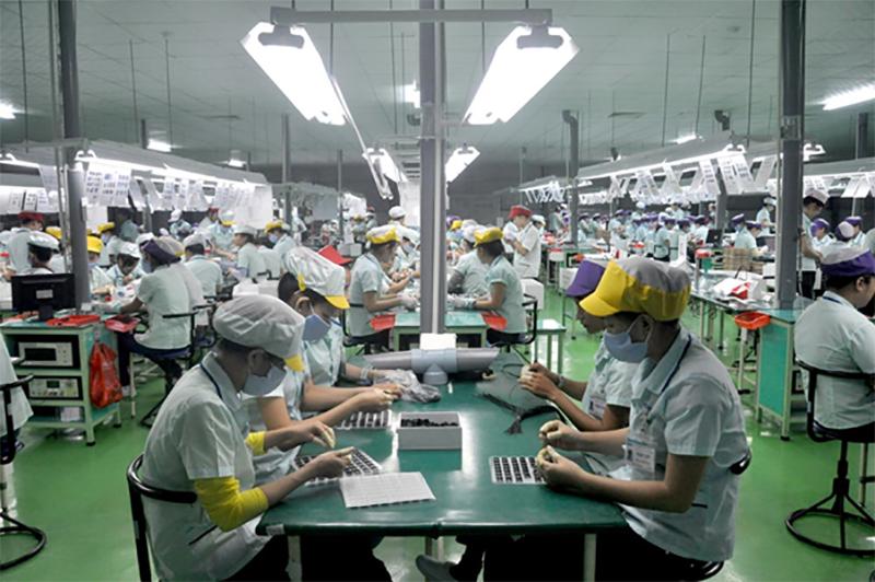 công nhân sản xuất dây chuyền tại đà nẵng