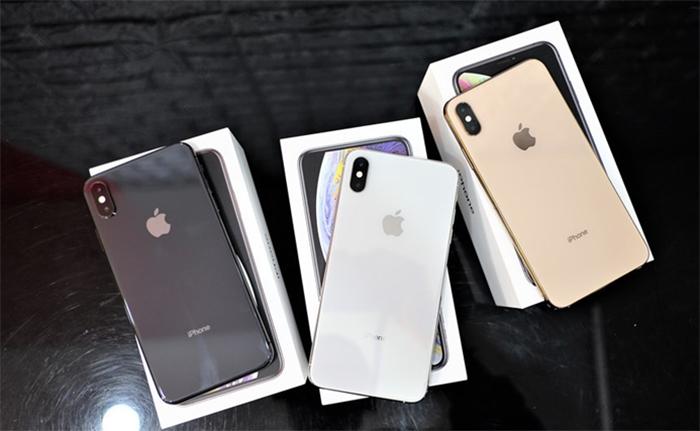 2018 Applera mắt3 phiên bản là iPhone XR, iPhone XS và iPhone XS Max