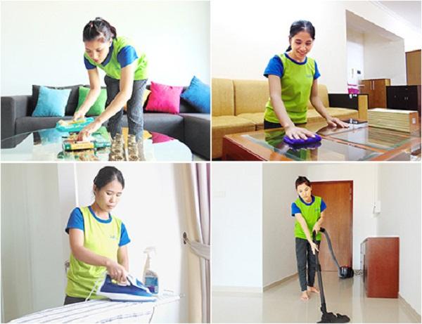 Giúp việc nhà theo giờ tại Đà Nẵng