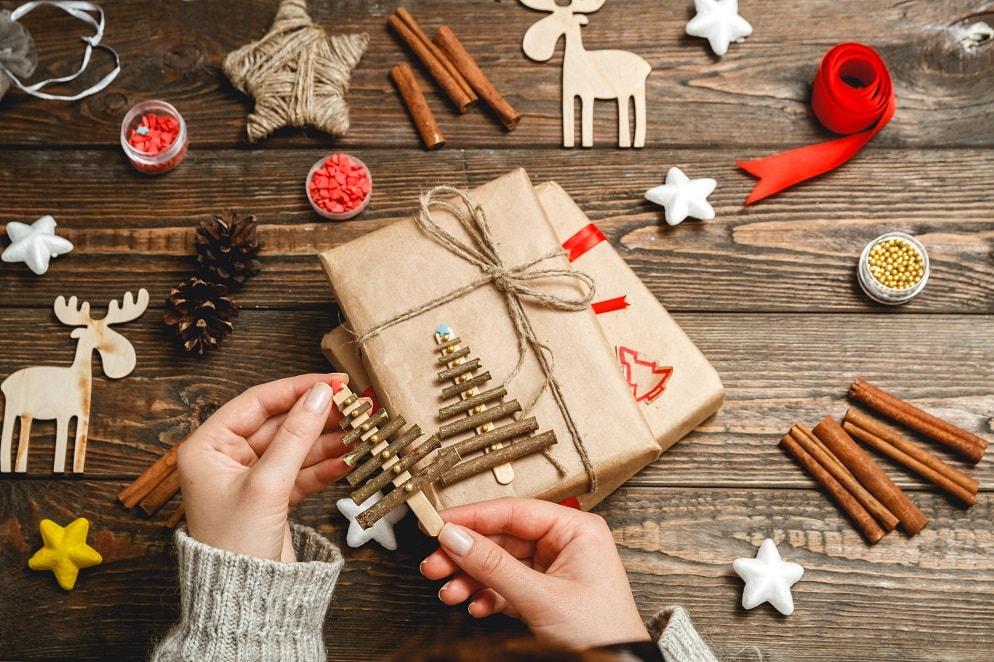 nhận hàng handmade về nhà làm