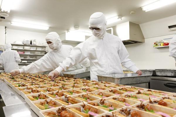Nhân viên sơ chế thực phẩm