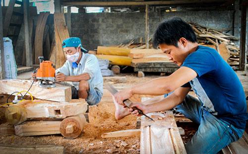 việc làm thợ gỗ