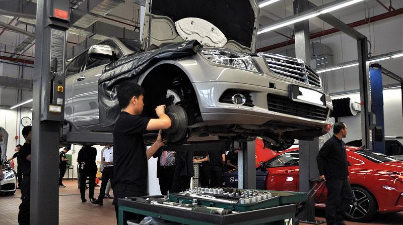 Việc làm thợ sửa chữa ô tô
