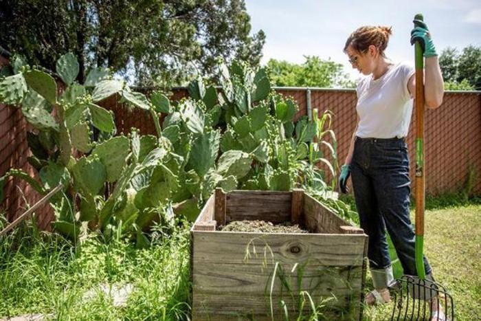nhân viên làm vườn tại nhà