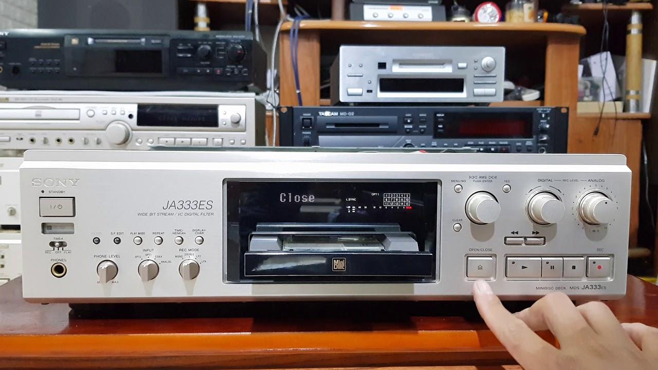 Đầu giải mã DAC Sony JA333ES