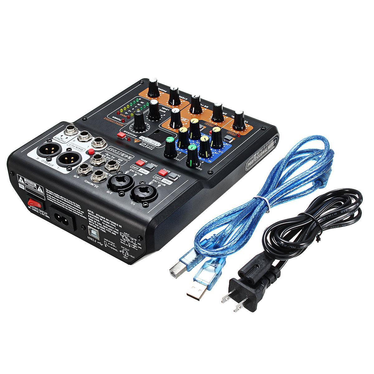 Mixer karaoke mini