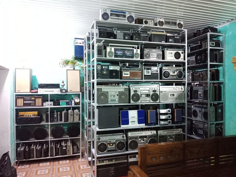 radio cassete