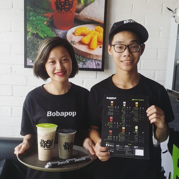 bobabop tuyển dụng nhân viên phục vụ trà sữa
