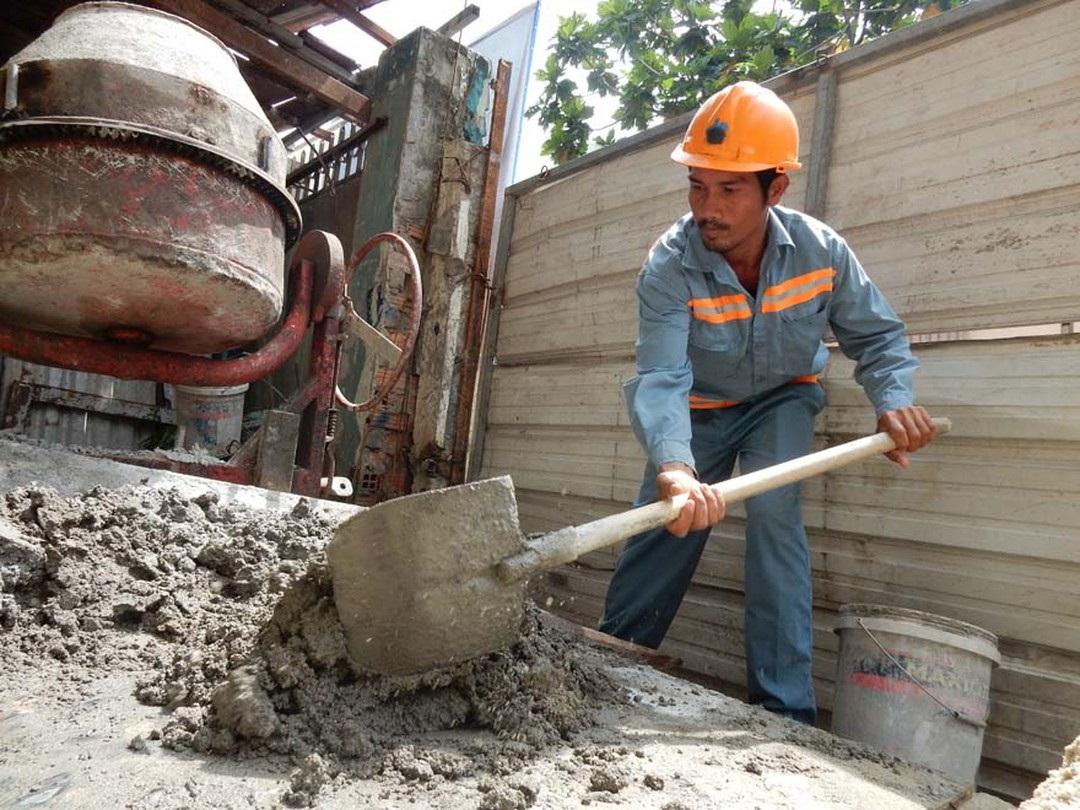 Thợ phụ xây tìm việc làm Hà Nội