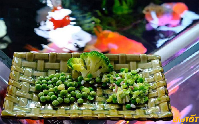 Thức ăn thực vật cho cá