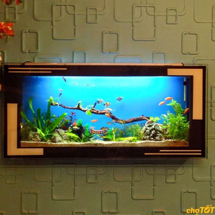 Bể cá cảnh treo tường
