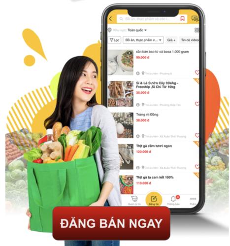Sạp Chợ Online, Không Lo Ngại Dịch