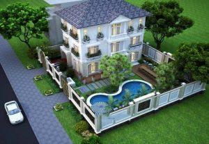 Những mẫu thiết kế sân vườn đẹp dành cho biệt thự