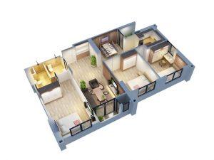 Thiết kế ngoại thất và nội thất của dự án An Bình City