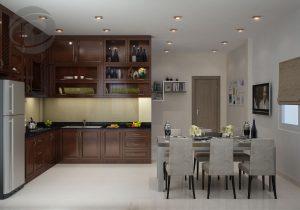 Chia sẻ cách bố trí bàn ăn trong bếp cho những bà nội trợ