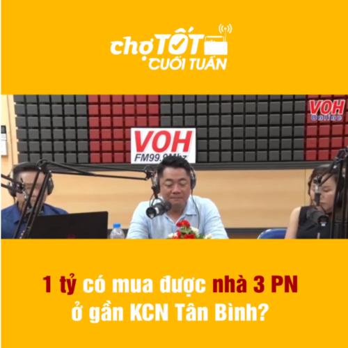 Bao nhiêu tiền có thể mua nhà gần KCN Tân Bình?