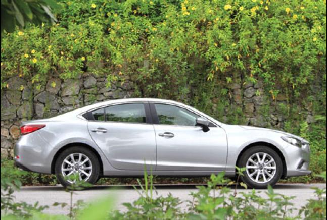 Mazda 6 là lựa chọn của giới trẻ