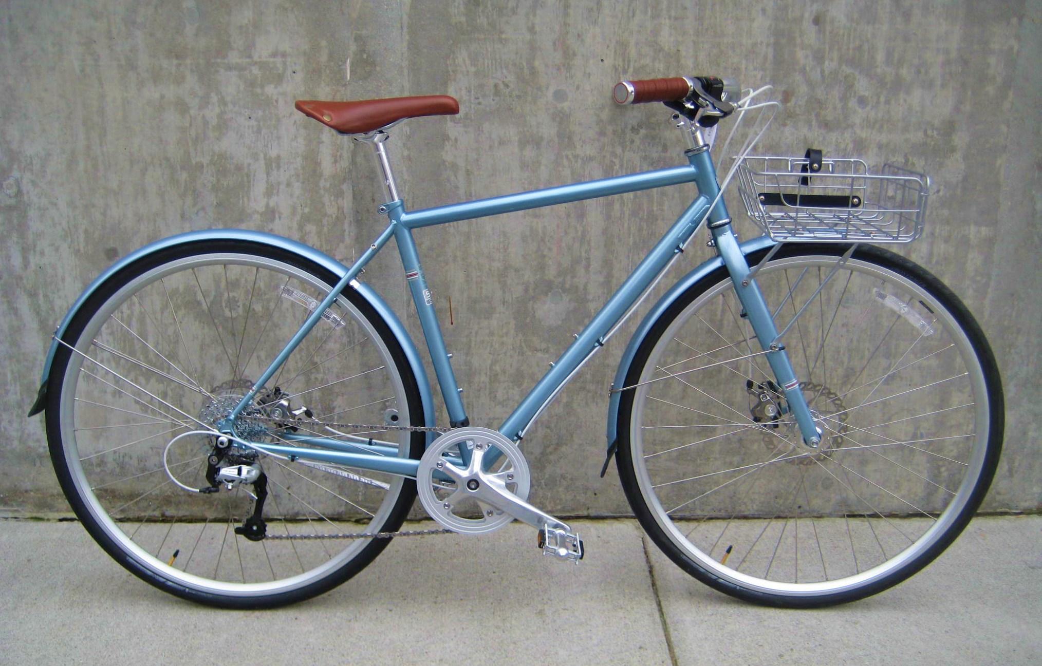 Chiếc xe đạp thành phố Trek Steel District 2014 nhập khẩu giá 18.9 triệu. Nguồn: classiccycleus.com