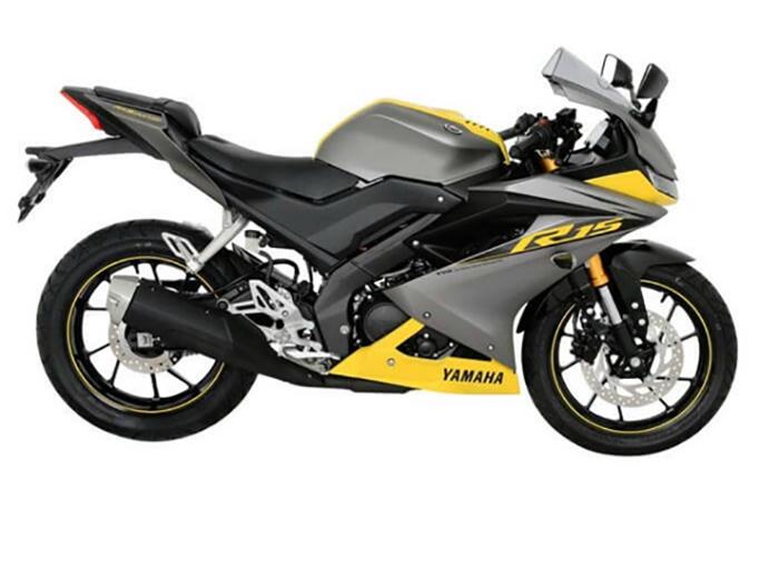 Xe Yamaha YZF-R15 V3.0 phiên bản màu vàng