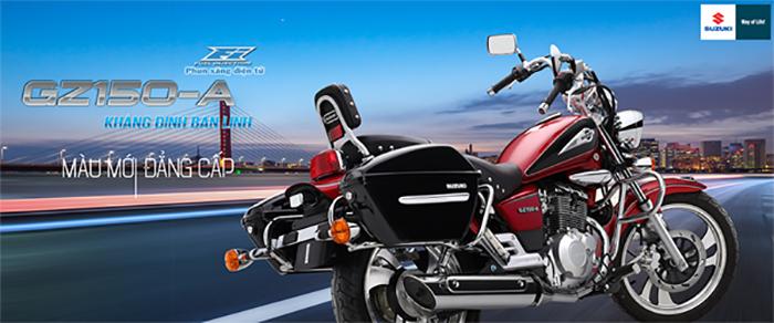 Suzuki GZ150-A - Thiết kế đầy nam tính
