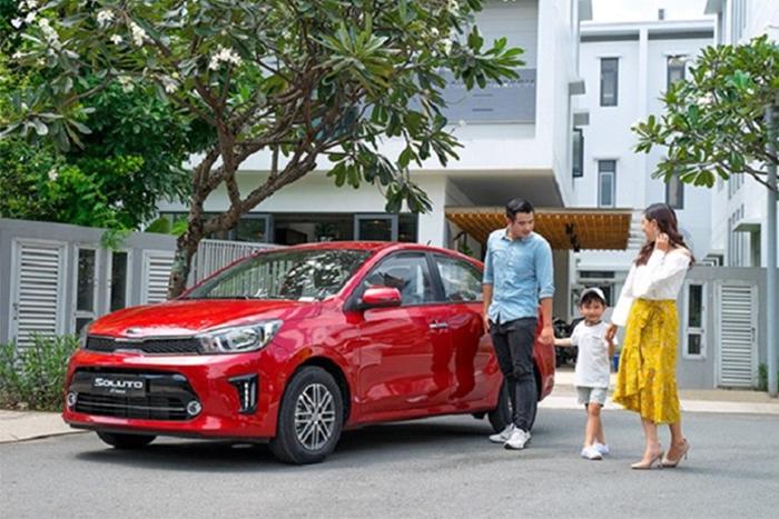 Kia Soluto 2020 nhận được sự ưa thích của khách hàng gia đình