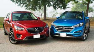 So sánh Mazda CX5 và Tucson 2019: kẻ tám lạng người nửa cân