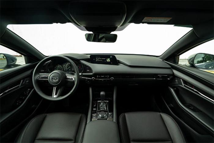 Thiết kế nội thất xe Mazda 3 2020 có nhiều cải tiến mới