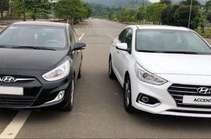 So sánh xe Hyundai Accent 2019 và 2020 để thấy sự khác biệt