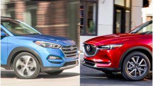 So sánh CX5 và Tucson 2020 – cuộc chiến phân khúc Crossover