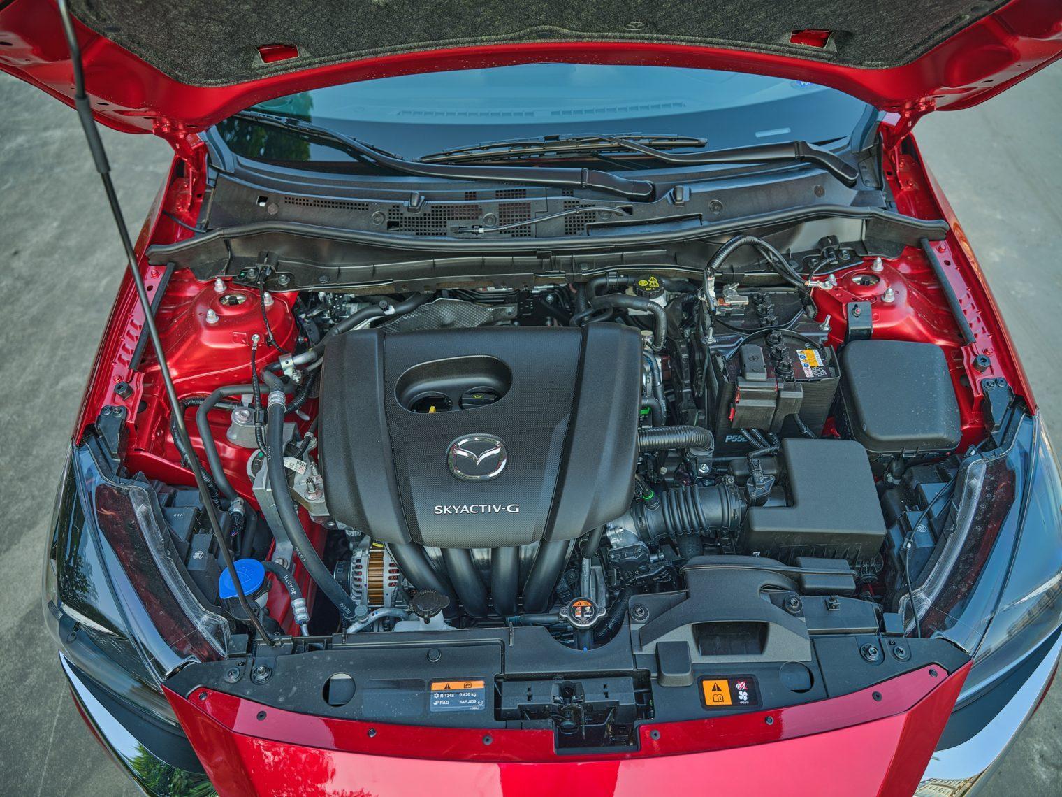 động cơ xe Mazda 2