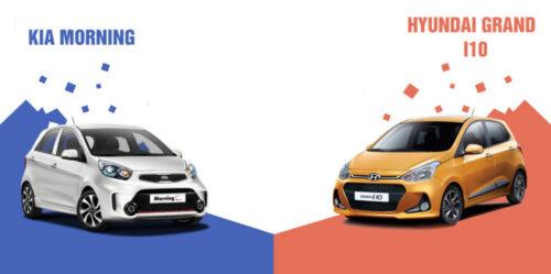 """Kia Morning và Huyndai Grand i10 – dòng xe nào là """"vua giữ giá""""?"""